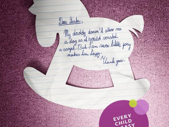 Woow Toys Print Ad -  Letters to Santa, Pony