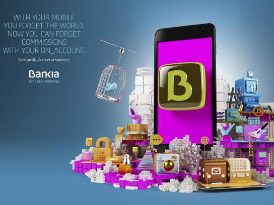 Bankia Print Ad - World