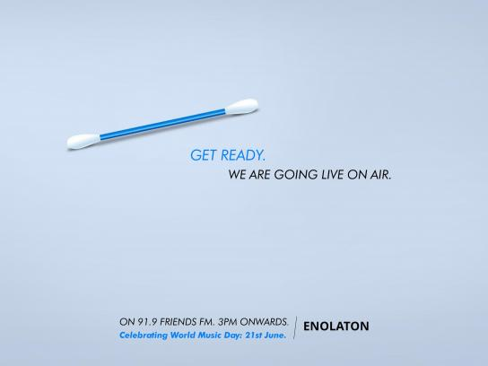 Enolaton Digital Ad - World Music Day