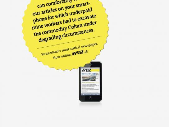 WOZ Print Ad -  Smartphone