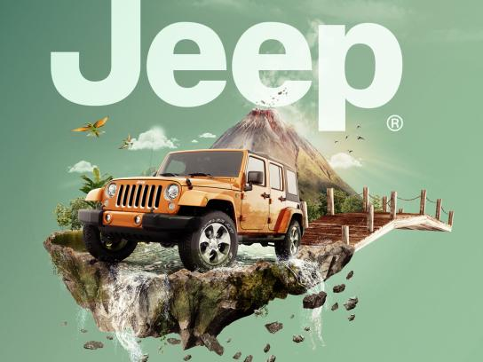 Jeep Print Ad - Wrangler