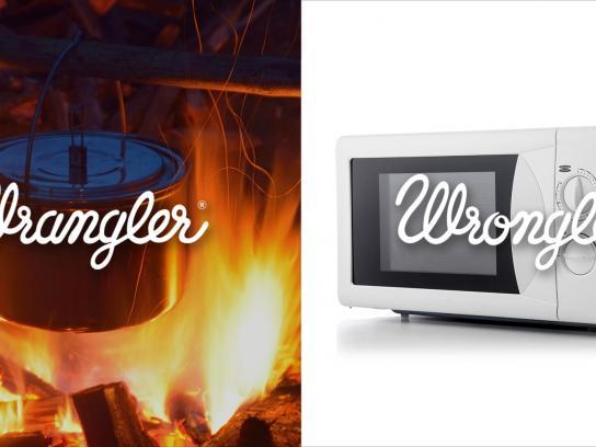 Wrangler Print Ad -  Wrangler vs Wrongler, 3