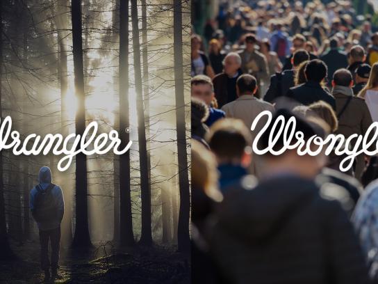 Wrangler Print Ad -  Wrangler vs Wrongler, 5