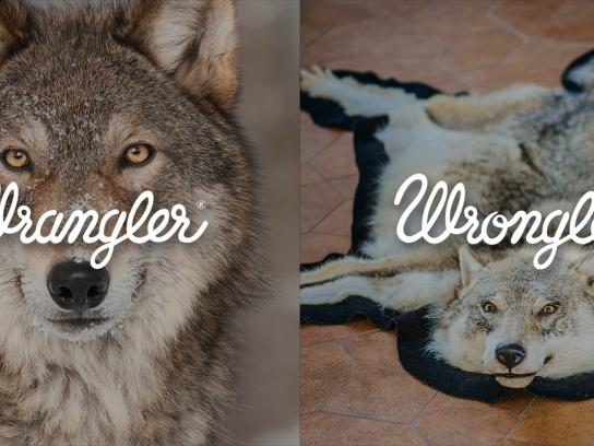 Wrangler Print Ad -  Wrangler vs Wrongler, 7