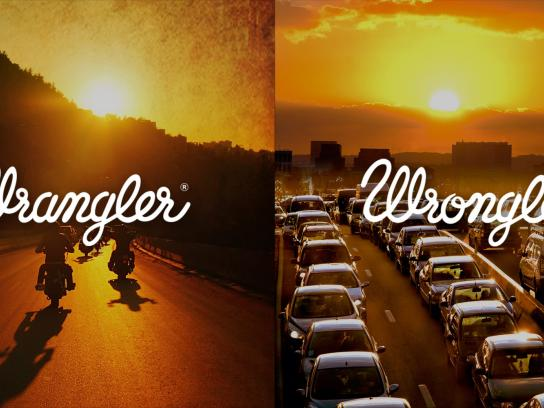 Wrangler Print Ad -  Wrangler vs Wrongler, 8