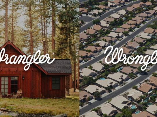 Wrangler Print Ad -  Wrangler vs Wrongler, 9