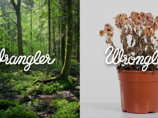Wrangler Print Ad -  Wrangler vs Wrongler, 10