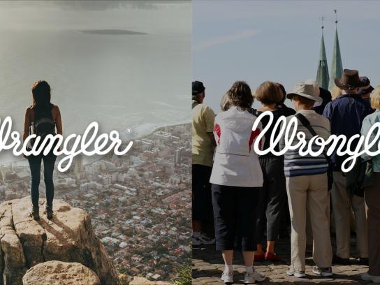 Wrangler Print Ad -  Wrangler vs Wrongler, 11