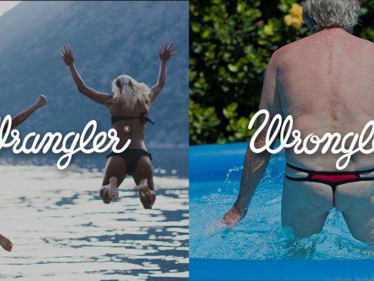 Wrangler Print Ad -  Wrangler vs Wrongler, 13