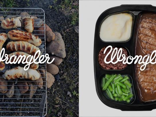Wrangler Print Ad -  Wrangler vs Wrongler, 14
