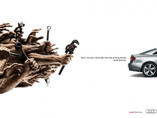 Audi Print Ad -  Wrench