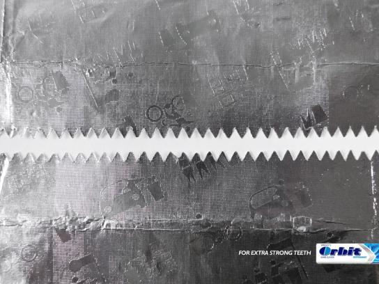 Orbit Print Ad -  Teeth