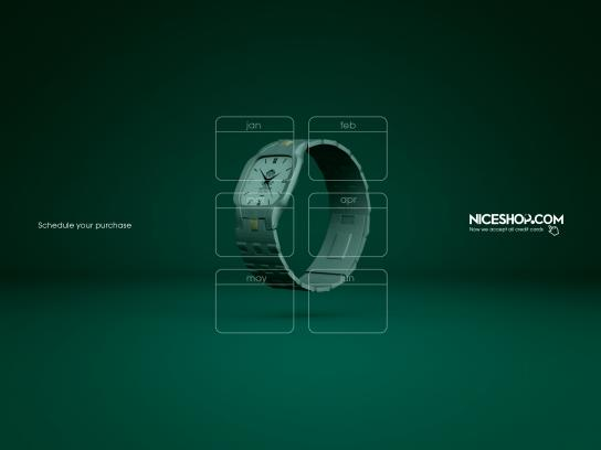 Niceshop Print Ad - Wristwatch