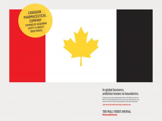 The Wall Street Journal Print Ad - Canada