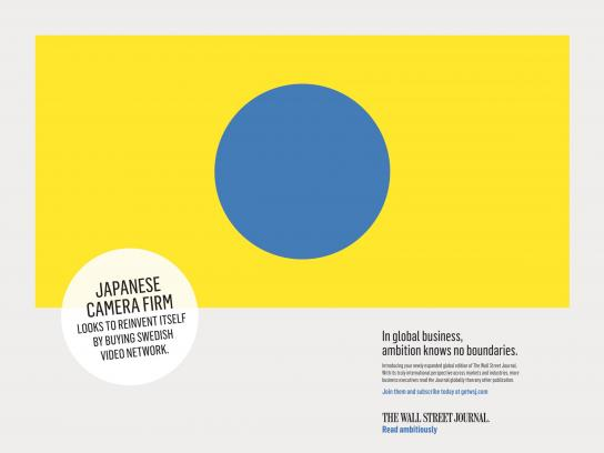 The Wall Street Journal Print Ad - Japan