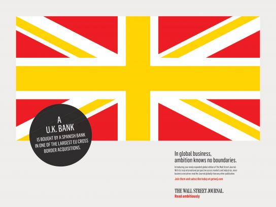 The Wall Street Journal Print Ad - UK