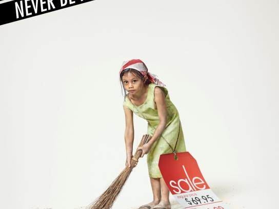 World Vision Print Ad -  Child, 3