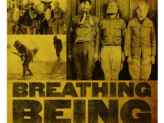 World War I Memorial Fund Print Ad -  Gas Mask