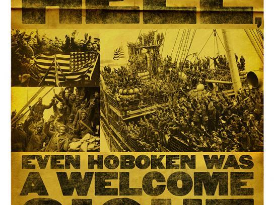 World War I Memorial Fund Print Ad -  Hoboken