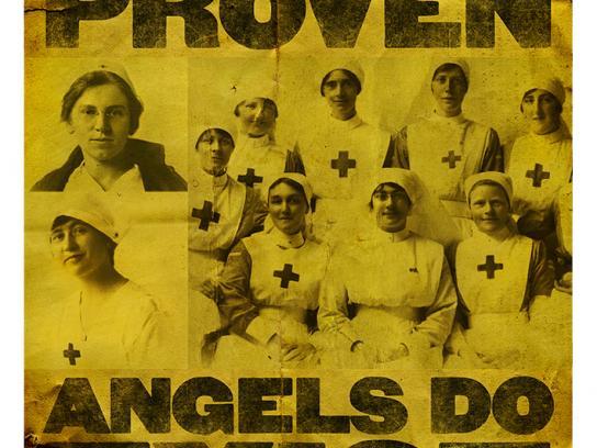 World War I Memorial Fund Print Ad -  Nurses