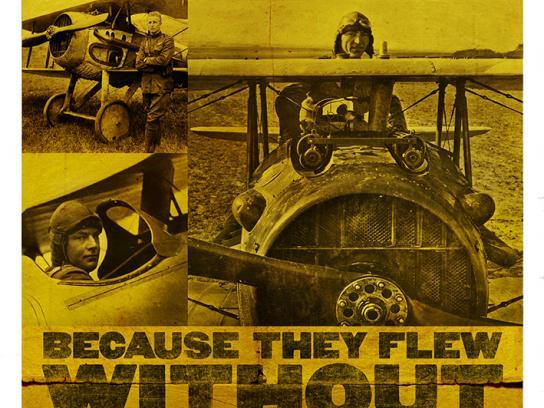 World War I Memorial Fund Print Ad -  Parachuettes