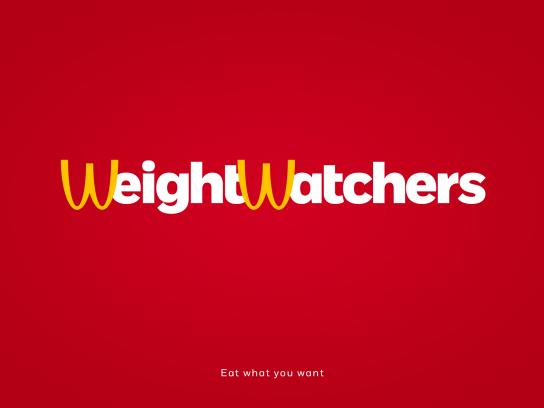 Weight Watchers Print Ad - Golden Arches