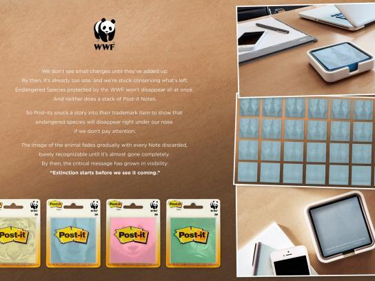 WWF Direct Ad -  Extinction