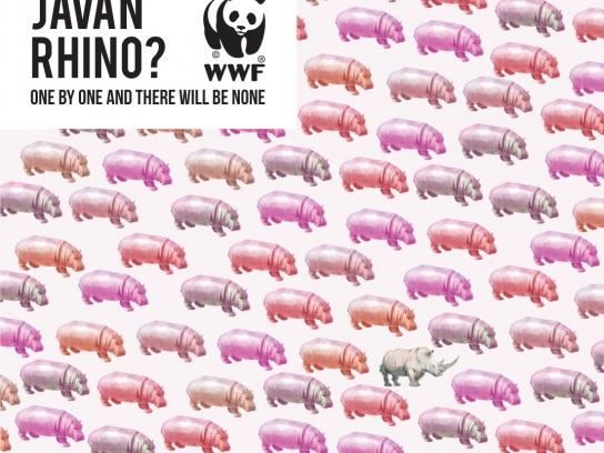 WWF Print Ad - One by One There Will be None