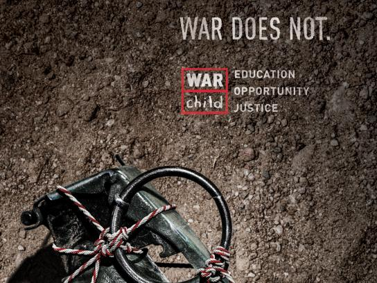 War Child Print Ad -  Grenade