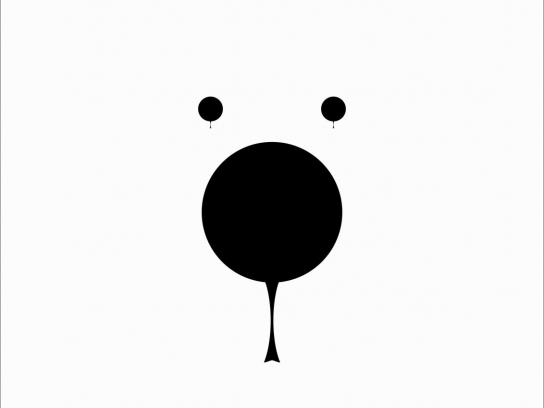 WWF Print Ad -  Bear