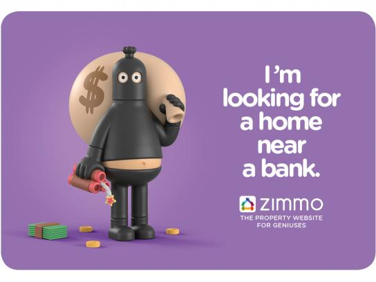 Zimmo Print Ad - The Property Website for Geniuses, 4
