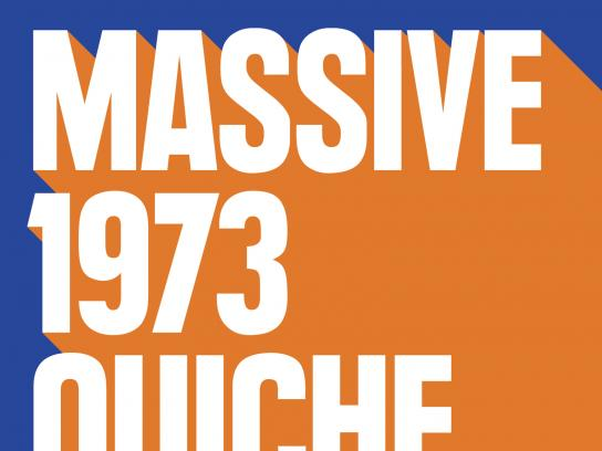 IRN-BRU Outdoor Ad - Massive 1973 Quiche Dong