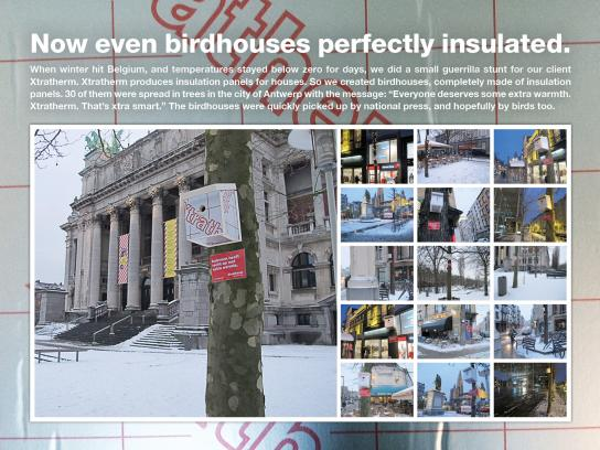 Xtratherm Ambient Ad -  Birdhouses