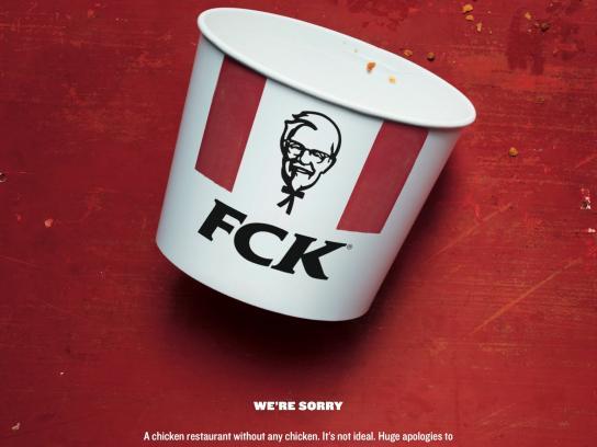 KFC Print Ad - FCK