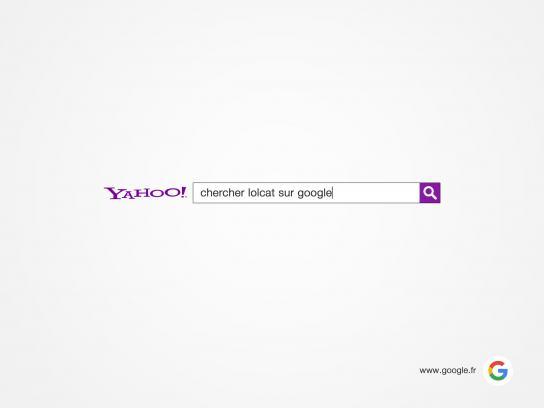 Google Print Ad -  Search lolcat on Google