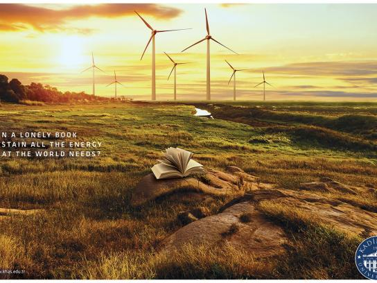Kadir Has University Print Ad -  Energy