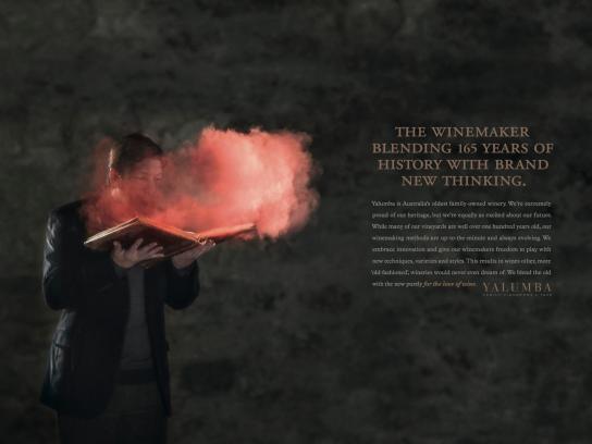 Yalumba Print Ad -  Blending History