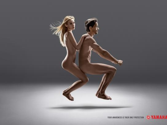 Yamaha Print Ad - Couple