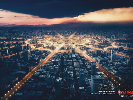 Yamaha Print Ad -  Redefine your streets