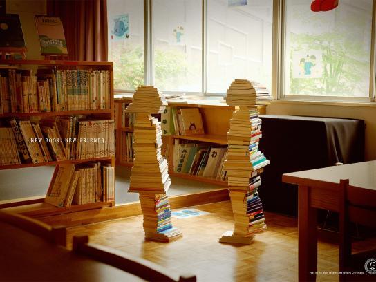 Yokohama City Board of Education Print Ad -  Books, 1