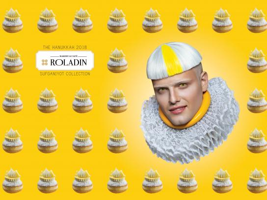 Roladin Print Ad - The 2018 Sufganiyot Collection - Yellow