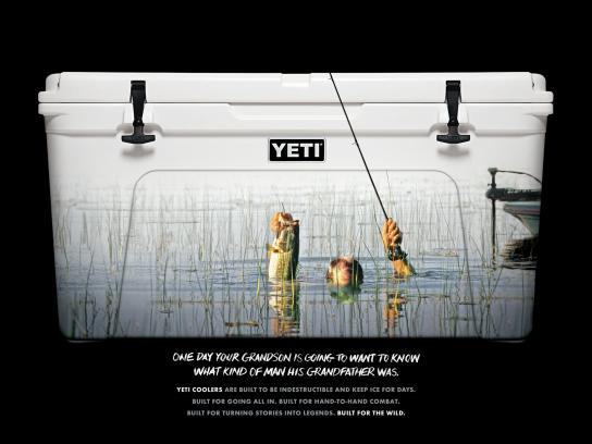 YETI Print Ad -  Bass