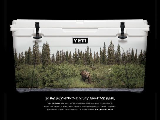 YETI Print Ad -  Bear