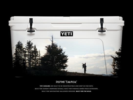 YETI Print Ad -  Bow hunter