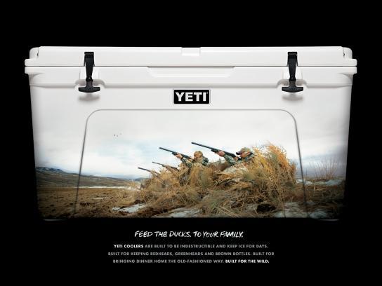 YETI Print Ad -  Duck