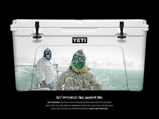YETI Print Ad -  Luchadores