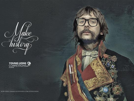 El Universo Print Ad -  Make history, 1