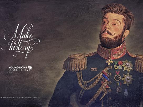 El Universo Print Ad -  Make history, 2