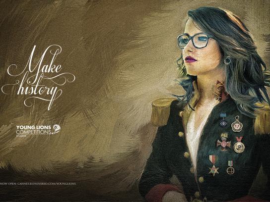 El Universo Print Ad -  Make history, 3