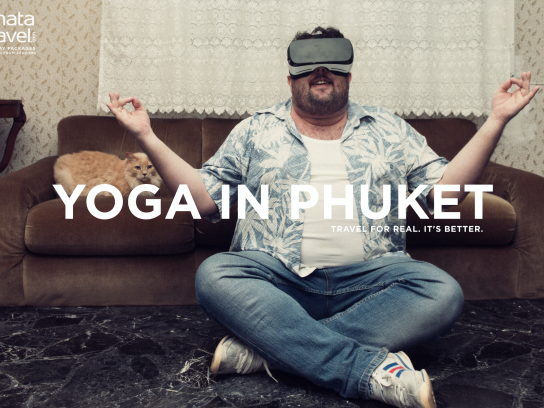 Dnata Travel Print Ad - Yoga